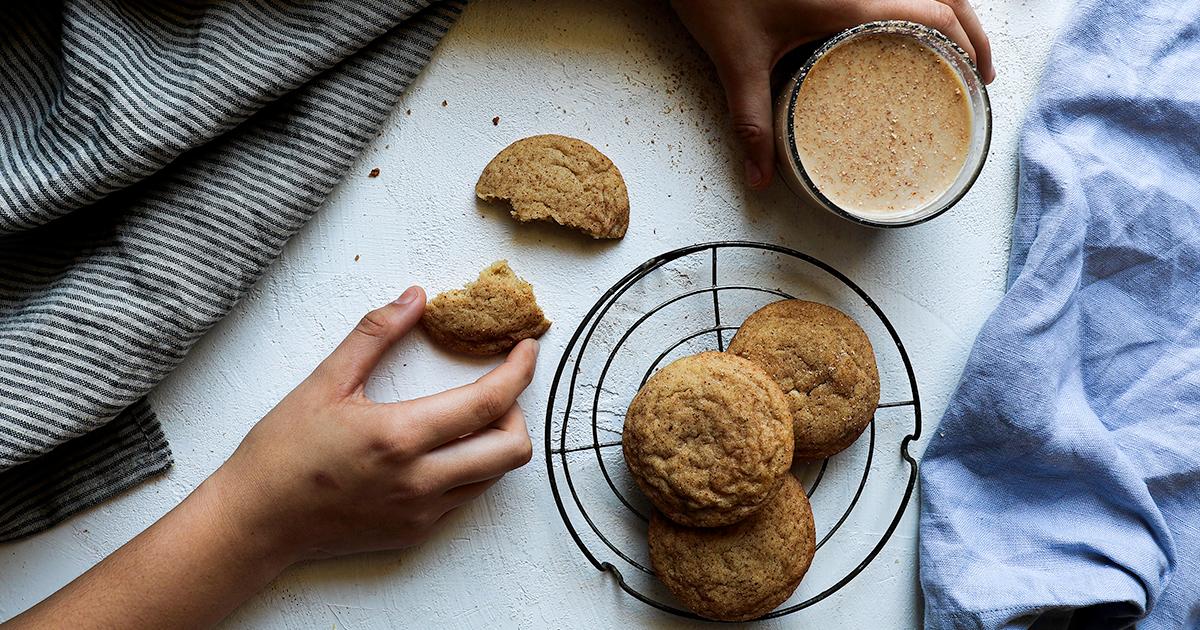 Eggnog Snickerdoodle Cookieseasy Cookies To Make