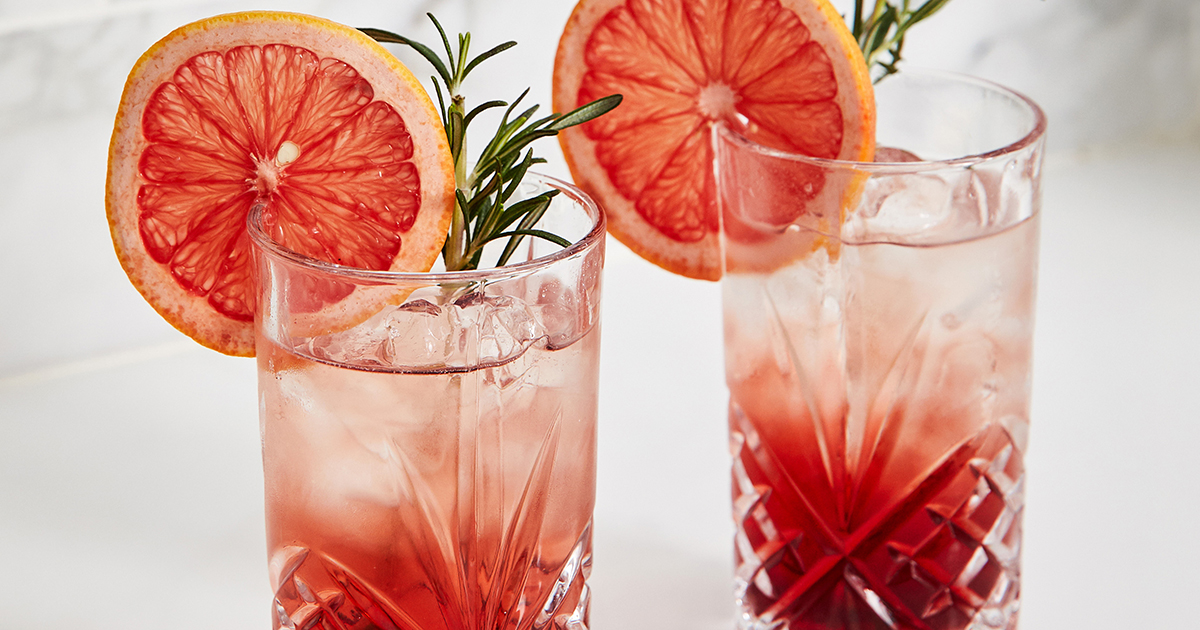 Ruby Vermouth Spritzers