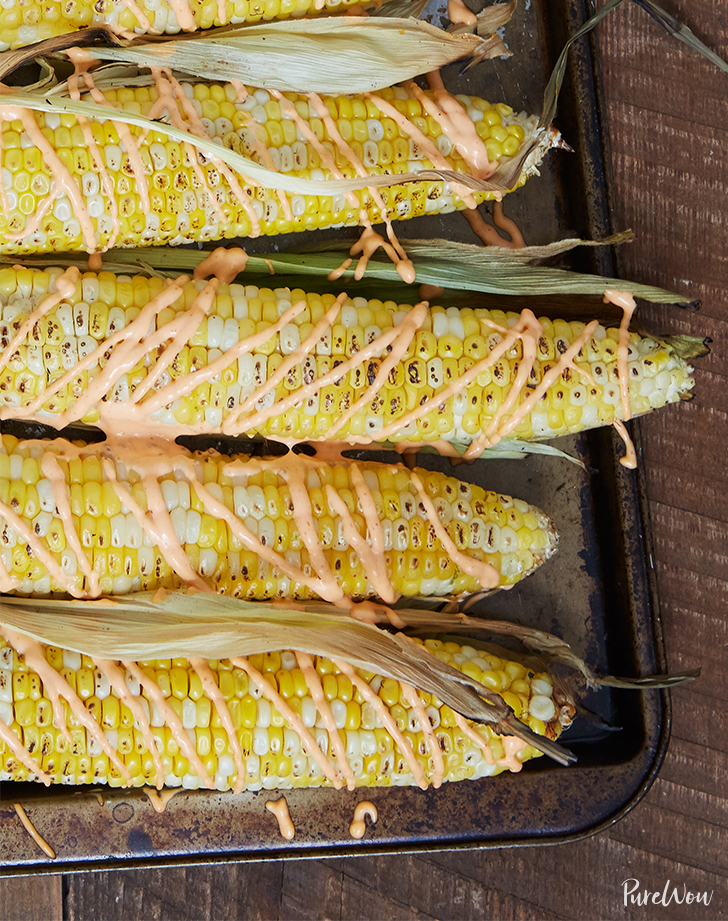 The Best Way to Eat Corn Is Grilled and Covered in Spicy Aioli