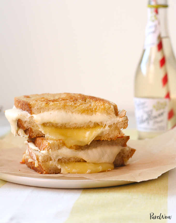 Triple-Decker Grilled Cheese