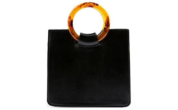 tortoiseshell handbag