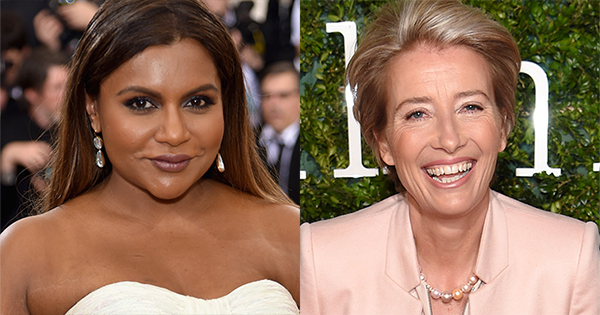 Mindy Kaling Emma Thompson Are Joining Forces In New Movie Late Night Flipboard