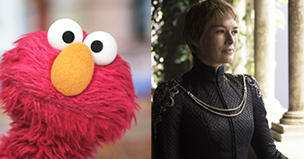 Elmo, House of Sesame, Joins Cersei and Tyrion at King's Landing in Surprise 'Game of Thrones' Video