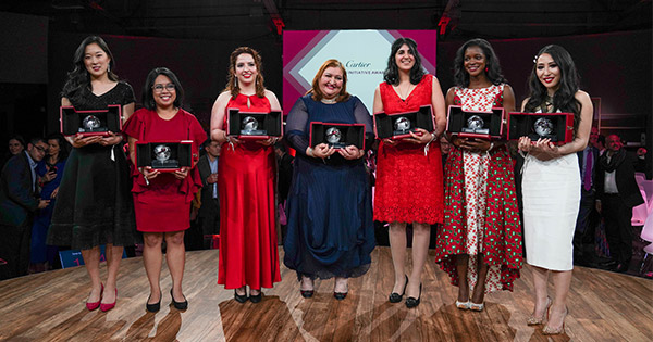 The Cartier Women's Initiative Awards Honored 21 Businesses that are Poised to Change the World