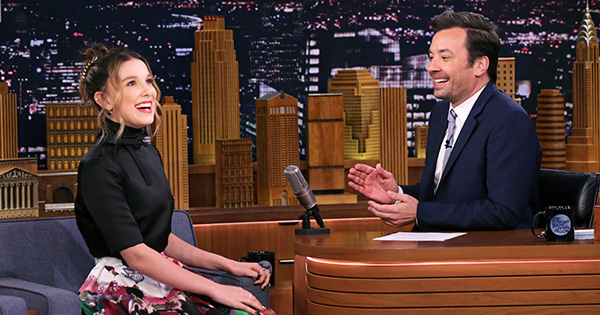 Umm, Millie Bobby Brown's Amy Winehouse Impression Is, Like, Scary Good