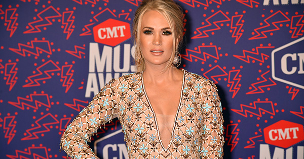 Carrie Underwood Says This Is the Best Part of Having a Newborn