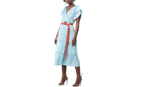 dvf ruffle dress1