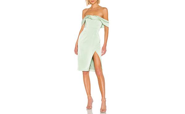 mint green dress1