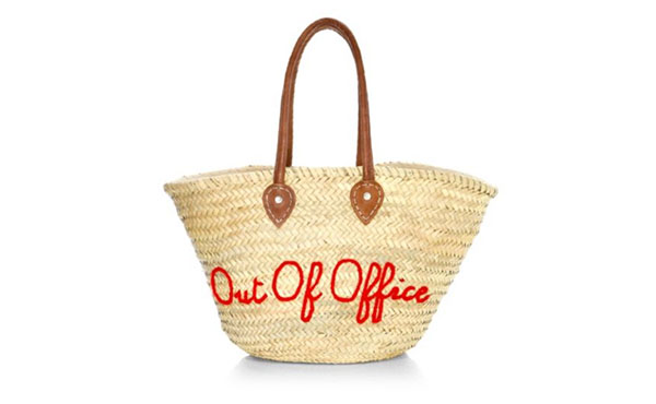 out of office poolside bag
