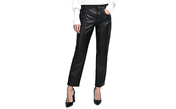 8 by yoox leather pants
