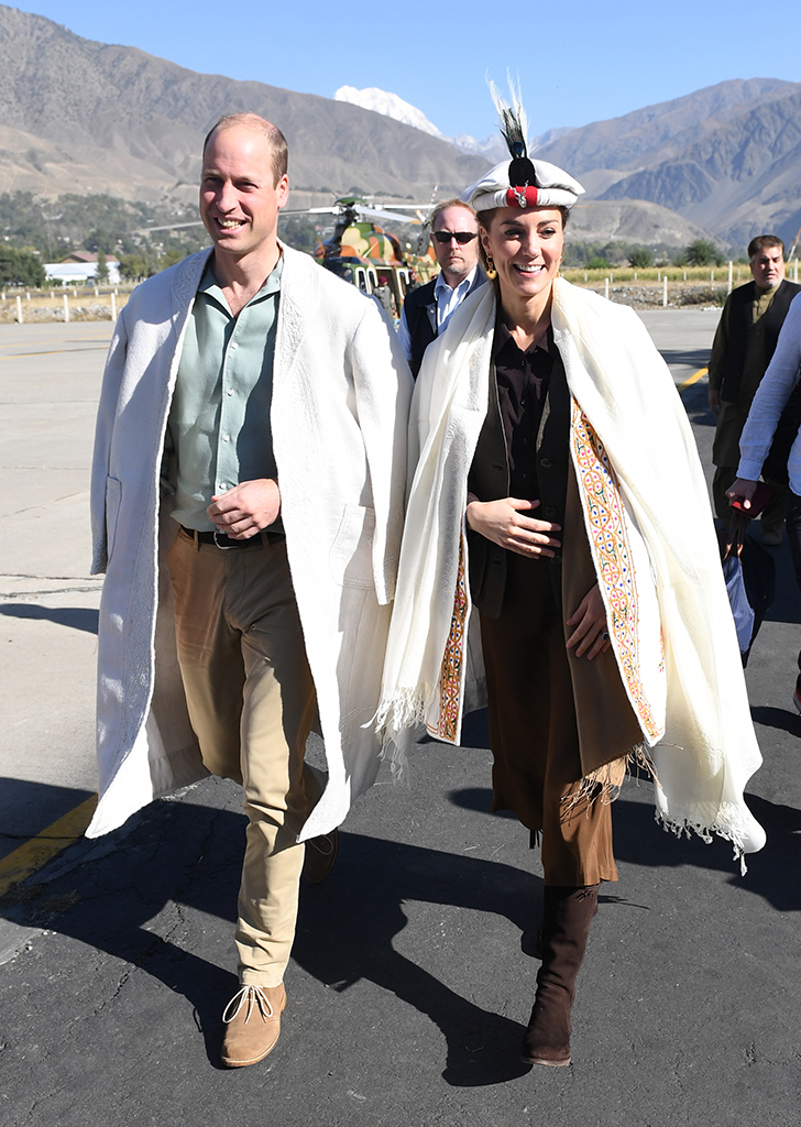 We Found a Replica Pair of the Slouchy Brown Boots Kate Middleton Wore in Pakistan—and They're Half the Price