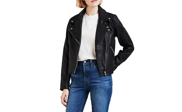 Levi s leather jacket