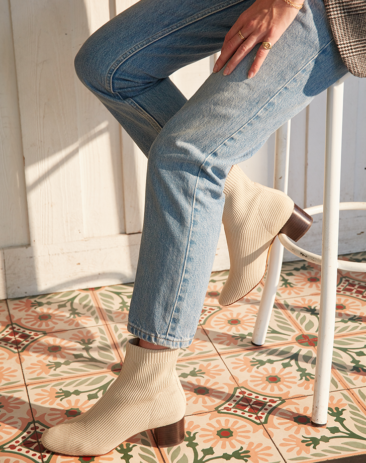 Everlane Just Revamped the Sock Boot and It's *So* Much Better Than Last Year's Version
