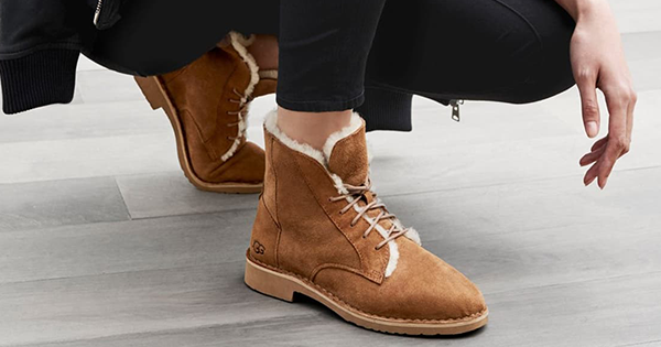 These Stylish Lace-Up UGGs are Making Me Seriously Reconsider Wearing the Beloved 2000s Brand