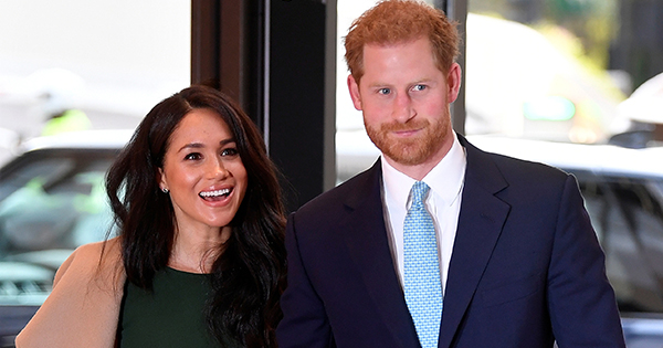 Meghan Markle and Prince Harry Share Throwback Wedding Photo in Mental Health Awareness Post