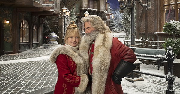 Ready Thy Remote: Goldie Hawn & Kurt Russell Are Returning for 'The Christmas Chronicles 2'