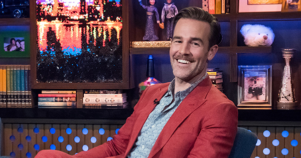 James Van Der Beek's Most Epic Dad Fail Includes a Can of Beans and an Open Flame