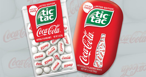 Coca-Cola Tic Tacs Taste JUST Like an Ice-Cold Coke