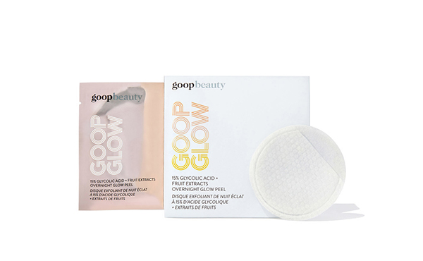 goopglow glycolic acid peel pads
