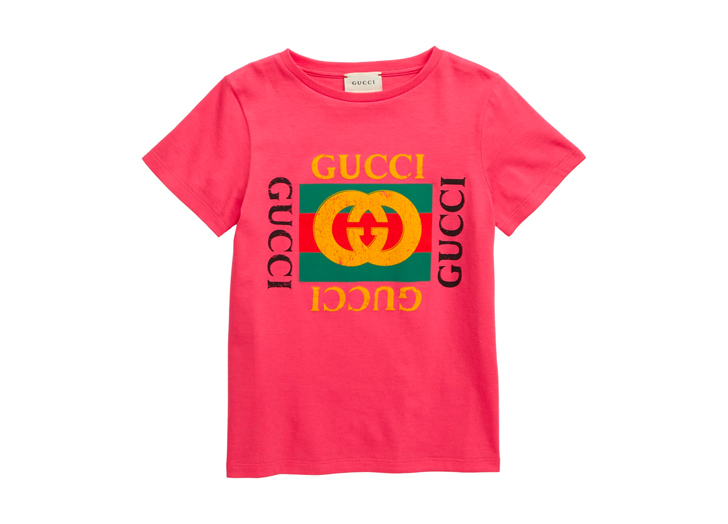 Welp, You Can Now Buy a $180 Gucci Shirt for Kids, If You're Into That Sort of Thing