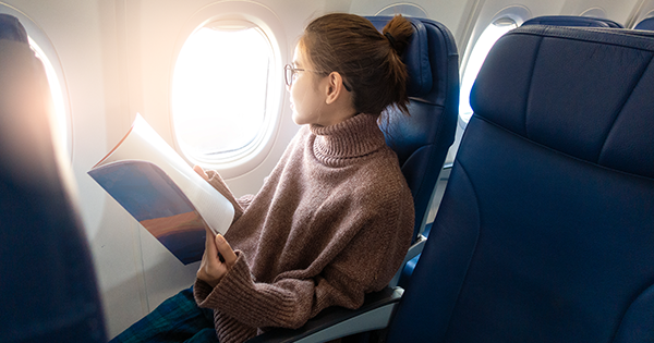 Use This Easy Trick Next Time Plane Turbulence Has You Freaking Out a Little