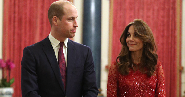 Kate Middleton & Prince William Welcome African Leaders at Buckingham Palace Reception