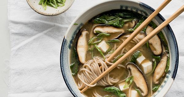 Restorative Miso Noodle Soup