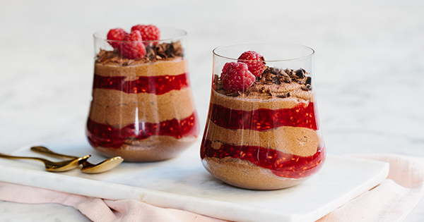 Chocolate Raspberry Fool