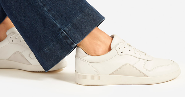 Everlane Just Dropped Its Newest Sustainable Sneaker and We're Guessing Meghan Markle Will Own It