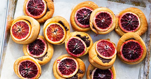 Orange and Chocolate Brioche Tarts