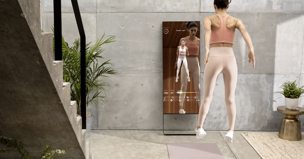 The Mirror Has Turned a Corner of My Apartment into an At-Home Gym (and It's Oprah-Approved)