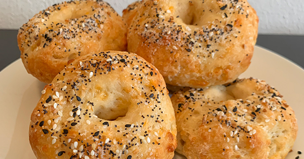 You Have to Try My Mom's Recipe for 30-Minute Mini Bagels