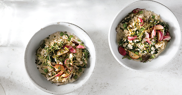 Joanna Gaines's Spring Vegetable Risotto