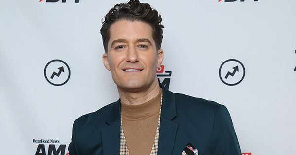 Matthew Morrison Gives Us the Scoop on a Potential 'Glee' Reunion, Shaving His Head His Latest Album