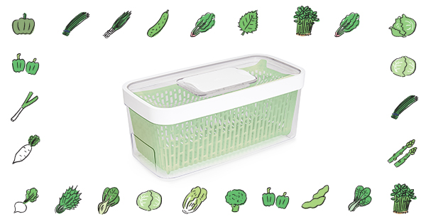 This $20 OXO Produce Keeper Helped My Greens Last 3 Times Longer