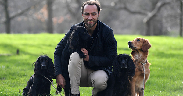 James Middleton Just Introduced His New Puppy on Instagram (& She Has a 'Lion King' Name)