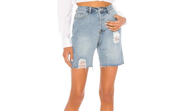 superdown denim shorts