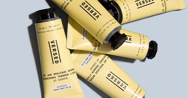 Versed Skin's New Zinc Oxide SPF Is Now 10 Percent Off ( & It's *So* Good)