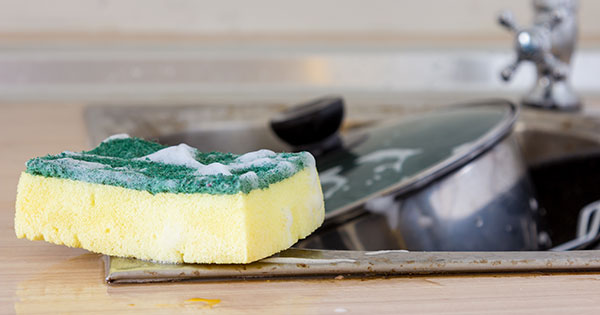 How to Sanitize a Sponge (Because, Ew)