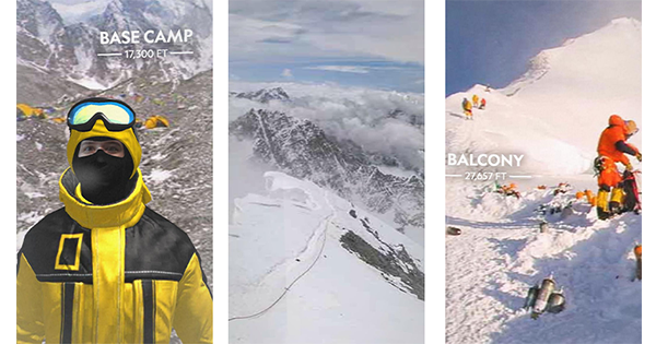 'National Geographic' Wants to Take You On a Virtual Trek Up Mount Everest...via Instagram
