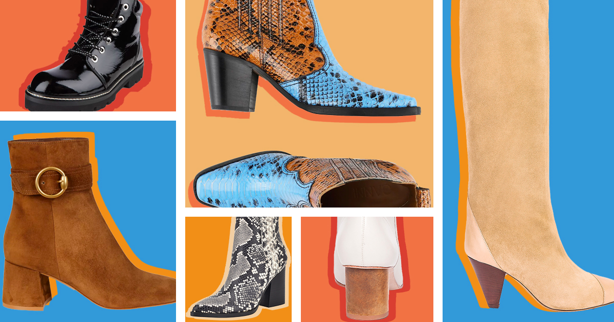These 12 Pairs of Fall Boots Will Go With Half Your Closet