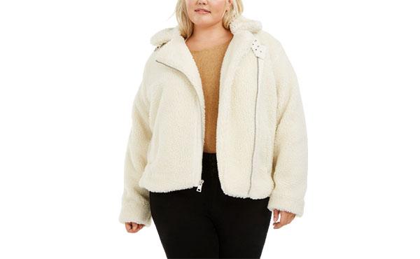 plus size fleece