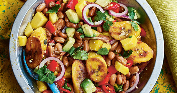 Sweet and Spicy Plantain Salad