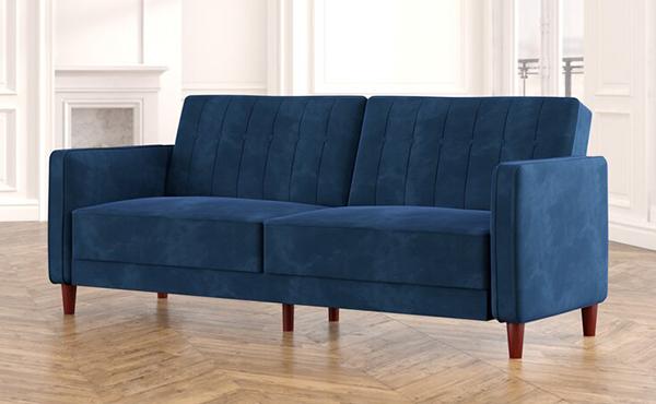 velvet couch1