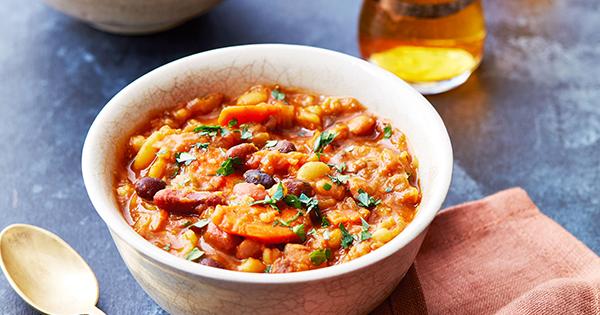 Instant-Pot Harissa Bean Stew