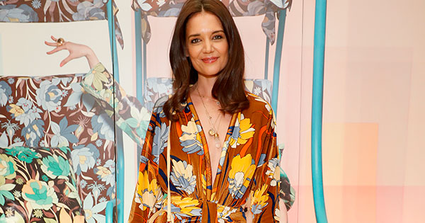 Katie Holmes Posts a Throwback from 2003 and We Can't Get Over Her Bangs