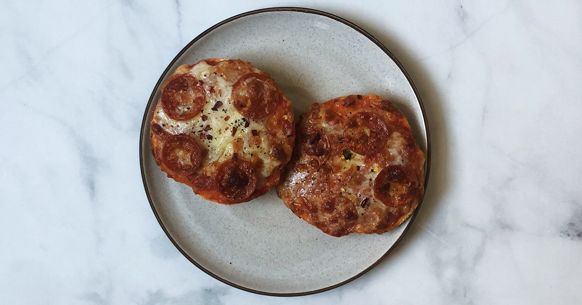 How To Make Pizza Bagels That Taste 10 Times Better Than the Store-Bought Kind