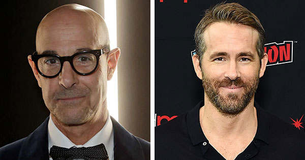 Stanley Tucci Just Seriously Trolled Ryan Reynolds on Instagram