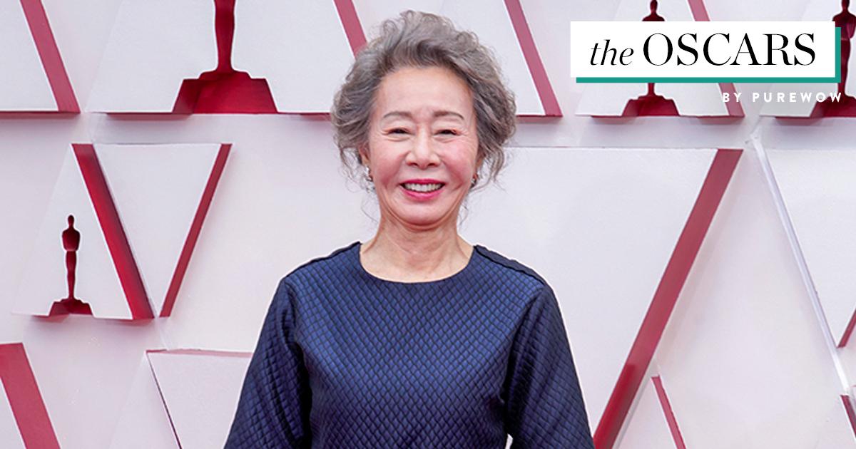 Yuh-jung Youn Won Best Supporting Actress at the Oscars (& She Made Brad Pitt Blush)