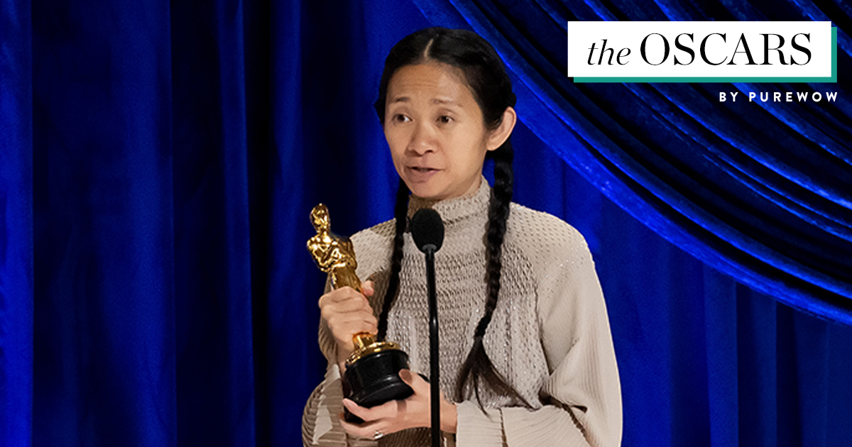 Yaaasss, Chloé Zhao! 'Nomadland' Wins Best Picture at the Oscars